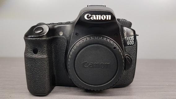 Canon 60d Corpo Revisada Com Acessórios