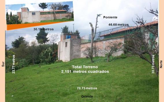 Casa Y Terreno De Dos Hectáreas En San Felipe Del Progreso