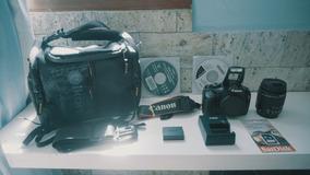 Canon T3 + Bolsa + Lente Kit + Cartão 16gb + Frete Grátis