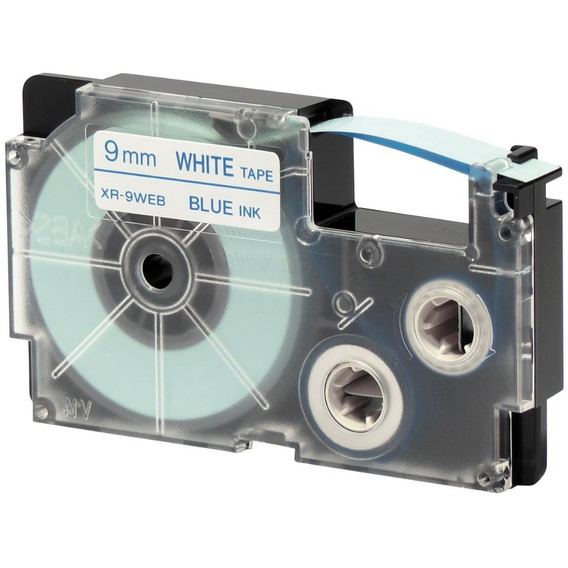 Paquete De 5 Cintas Para Rotulador Casio Xr-9web1 9mmx8m