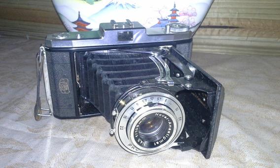 Antiga Camera Fotográfica Zeiss Ikon Nettar