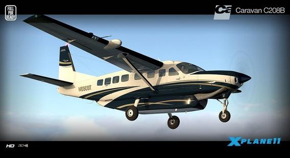 Carenado Cessna 208 Grand Caravan Para X-plane 11