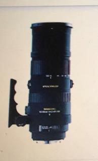 Lente Teleobjetivo Sigma 150-500 Mm 1:5 - 6,3 Apo Hsm
