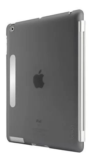 Case Cinza Para iPad 3ª Geração + 2 Películas