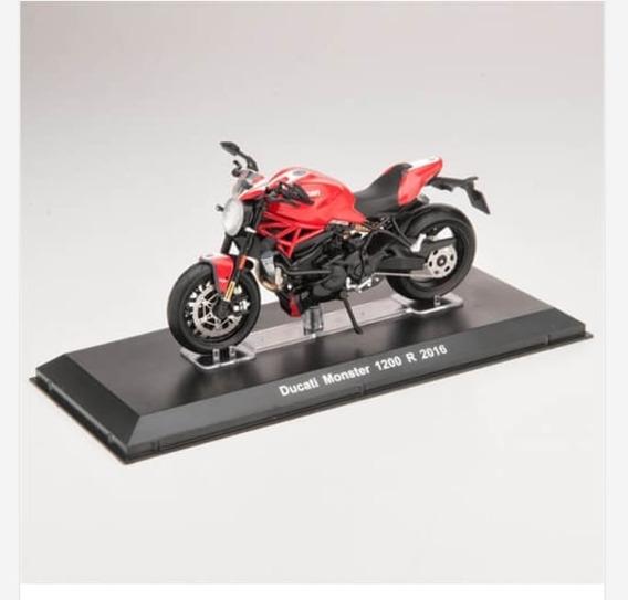 Miniatura Moto Ducati Monster 1200r Salvat