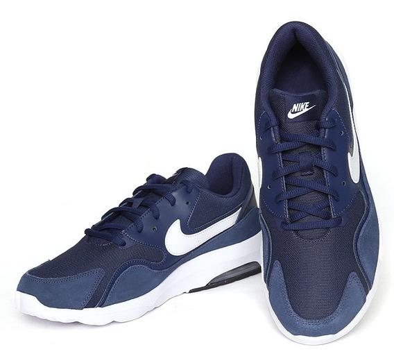 Nike Zapatillas Air Max Nostalgic 916768-004 Marino Dep