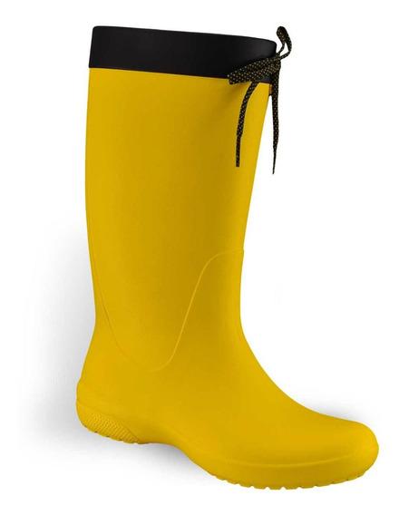Botas De Lluvia Crocs Freesail Rain Boot Mujer