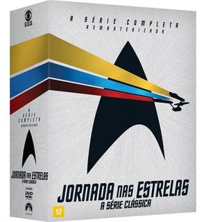 Dvd Jornada Nas Estrelas - A Série Completa (23 Dvds)