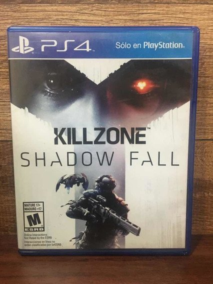 Killzone Shadow Fall Ps4 Mídia Física 100% Em Português