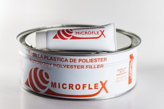 Masilla Plastica Automotriz Microflex 1/4 10 Americans