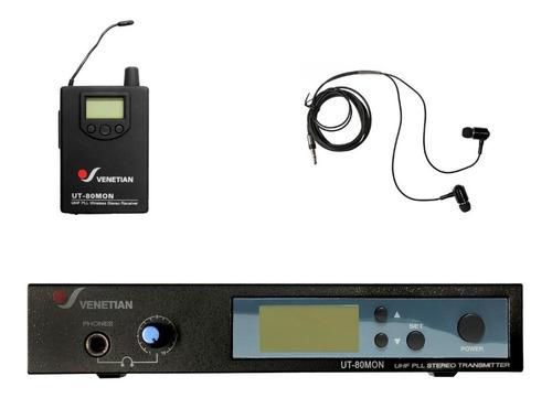Imagen 1 de 1 de Venetian Ut-80mon Sistema Monitoreo Intraura Apogee In Ear