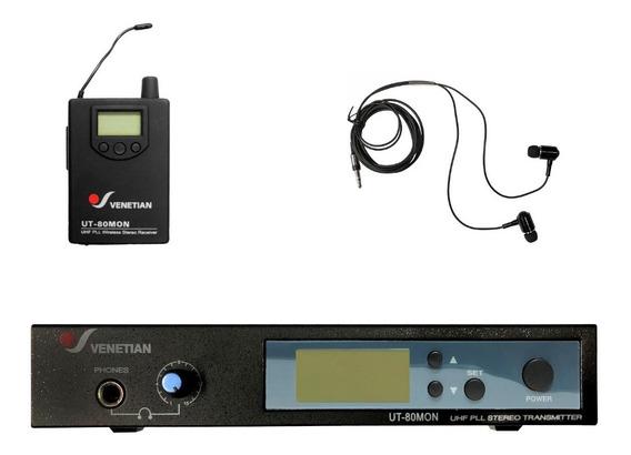 Venetian Ut-80mon Sistema Monitoreo Inalambrico Full