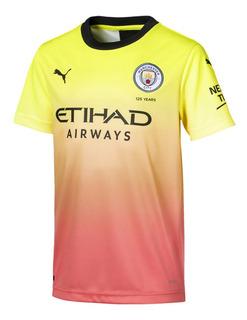 Camiseta Puma Manchester City 2019/2020 Infantil - Original