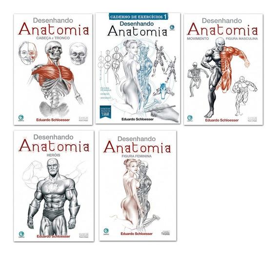 Col Desenhando Anatomia + Cad Exercicios - Eduardo Schlosser