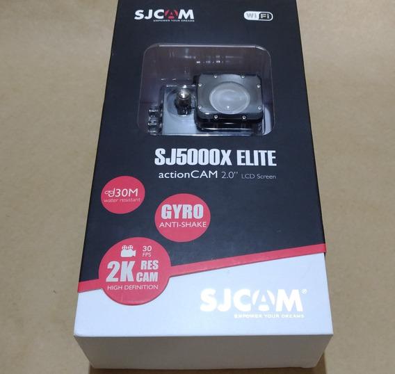 Câmera Sjcam Sj5000x Elite Original 4k 12mp 2 Baterias Extra
