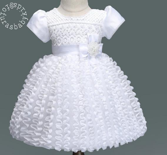 Vestido Branco Festa/batizado