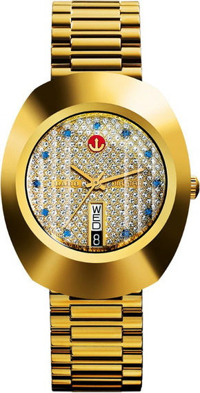 Reloj Rado R12413313 Lluvia De Estrellas Dorado Hombre