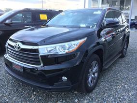 Toyota Highlander Xle Negra 2015