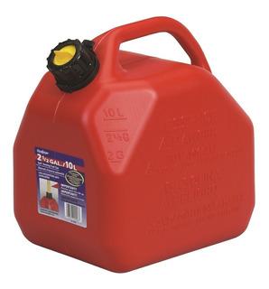 Bidon Plastico Con Surtidor Para 10lts. De Combustible