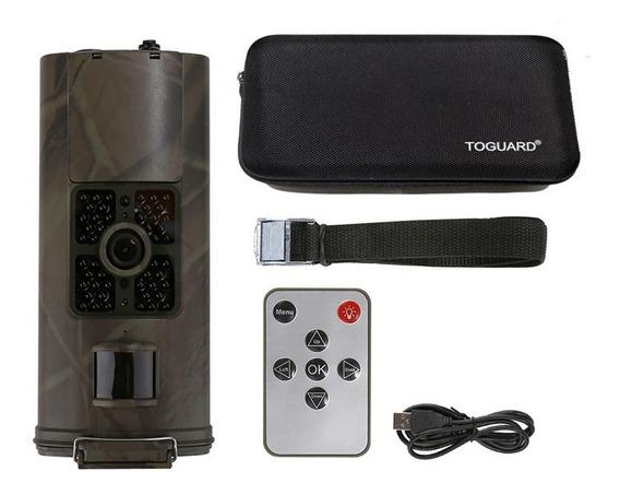 Câmera Hd Caça Observação De Trilha Hc-700a + Case Brinde