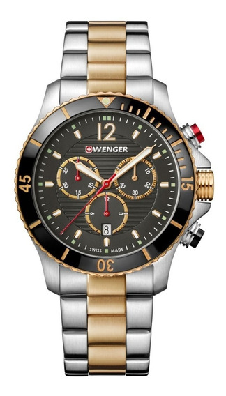 Relógio Masculino Suíço Wenger Seaforce Chrono 01.0643.113