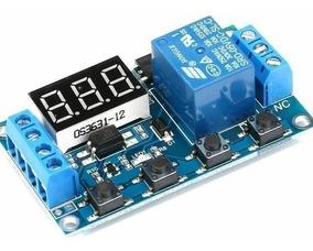 Rele Temporizador Programável 6-30v Xy J02