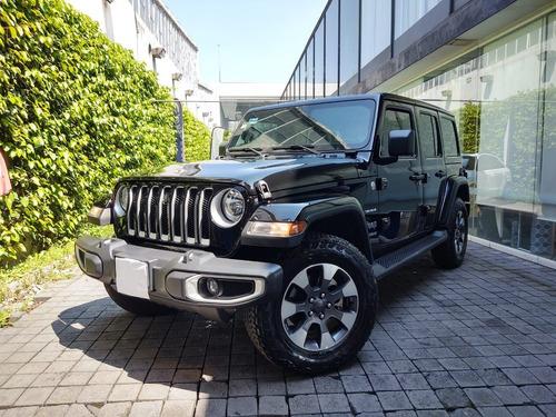 Imagen 1 de 15 de Jeep Wrangler 2021 3.6 V6 Unlimited Jl Sahara Etorque Mild-h