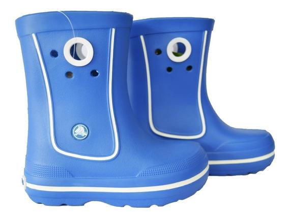 Botas Lluvia Crocband Jaunt Azul