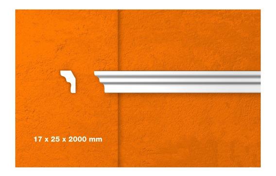 Moldura Techo / Pared Cornisa Bb25 Pack 4 Metros Lineales