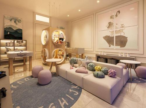 Apartamento Com 2 Dormitórios À Venda, 90 M² Por R$ 1.073.300,00 - Mercês - Curitiba/pr - Ap3387