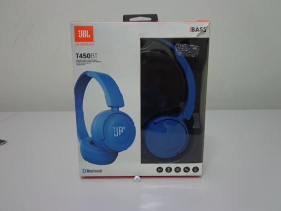 Fone De Ouvido Jbl T450 Bt Azul - Bluetooth