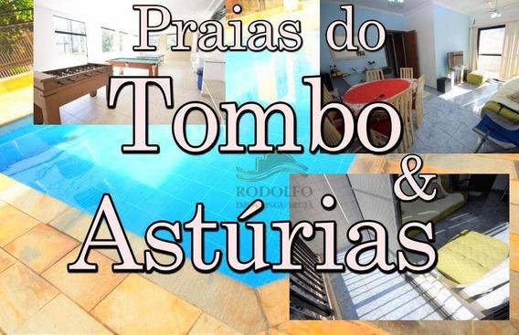 Bem Localizado! Astúrias Guarujá, Com Lazer - Ap0870