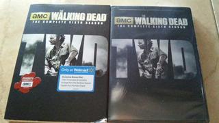 The Walking Dead Sexta Temporada Y Disco Bonus Envio Gratis