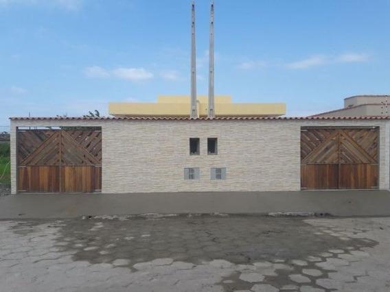 Casa Em Itanhaém Ficando Lado Serra Com 150m² Total Ref 3594