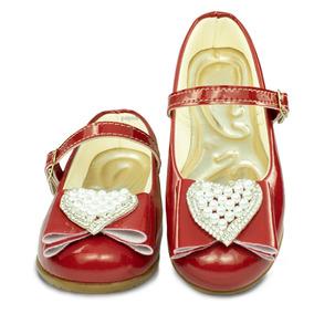298dfaca0a Sapato Infantil Vermelho - Sapatilhas Meninas no Mercado Livre Brasil