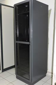 Bastidor Rack De Piso 19 X 40ur X 680 Mm Com Bandejas