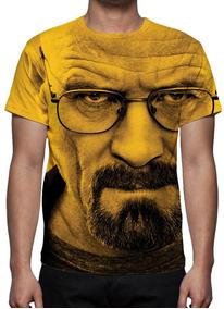 Camisa, Série Breaking Bad Heisenberg Face