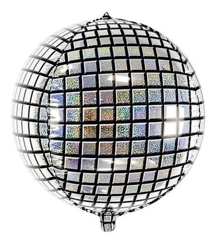 Globo Bola Discoteca 50 Cm -bola Disco Helio Fiesta Cumple
