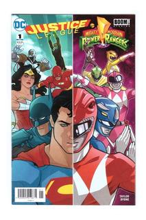 Justice League Vs Mighty Power Rangers 1 Al 6 - Televisa