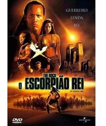 Dvd The Rock O Escorpião Rei