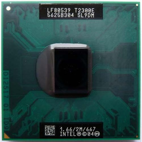 Processador Notebook Intel Core Duo T2300e 1.66ghz/2mb/667