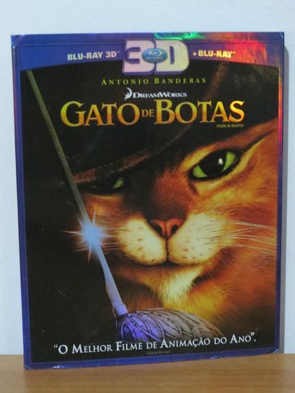 Dvd Blu-ray Gato De Botas Original