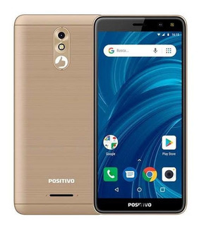 Smartphone Positivo Twist 2 Pro, Dourado Preto 32gb