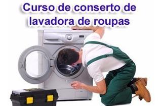 Curso Aprenda A Consertar Máquina De Lavar - 5 Dvds S7d
