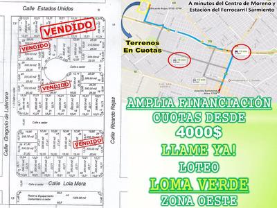 Terrenos En Cuotas Fácil De Pagar 3 Cuadras Autopista