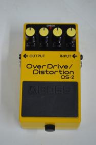Pedal Boss Overdrive/distortion Os-2 (((((. Zerado ))))
