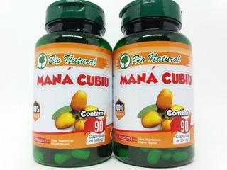 2 Mana Cubiu 90 Cáps Vegano 500mg Fonte Vitamina B6 Zinco