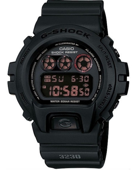 Relógio Casio G-shock Dw-6900ms-1dr + Nfe + Original
