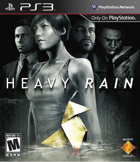Heavy Rain Ps3 - Mídia Física | Com Nf E Garantia Playgorila