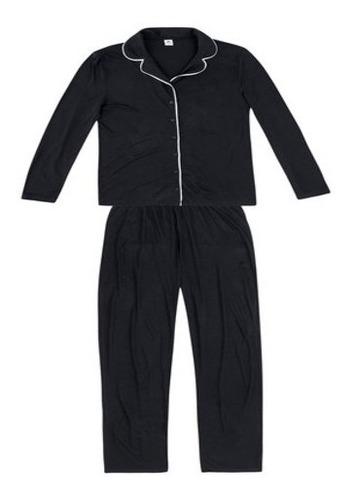 Pijama Longo Feminino Hering